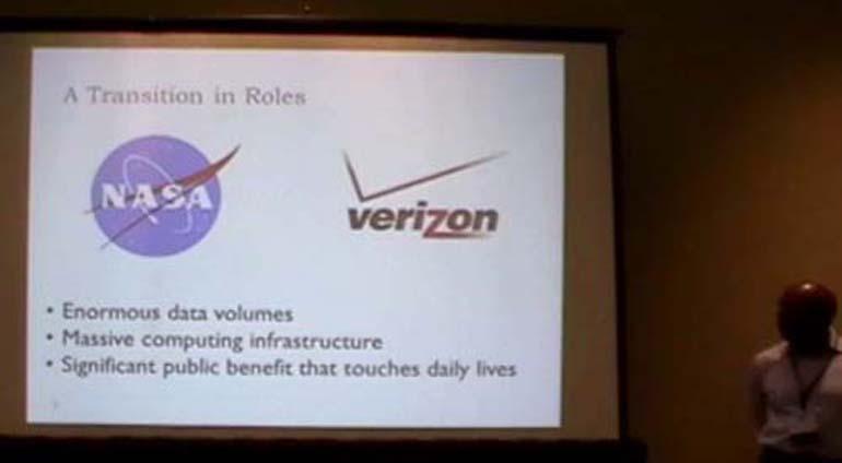 Big Data and Analytics at Verizon