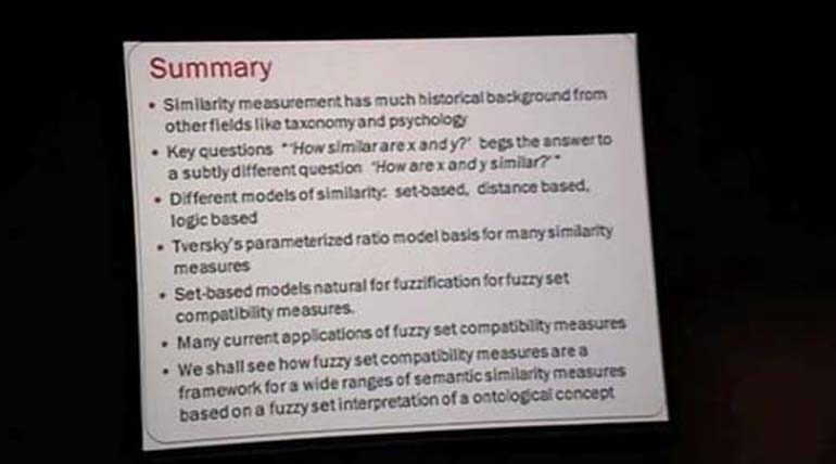 Valerie Cross - Similarity from Fuzzy Sets to Semantic Similarity and Their Role on the Semantic Web