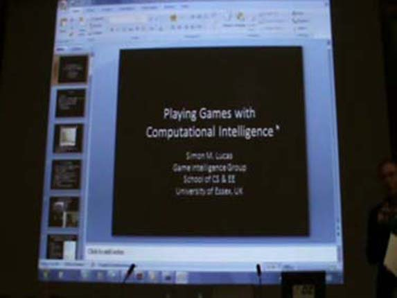 Playing Games with Computational Intelligence