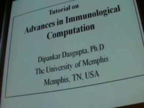 Advances in Immunological Computation 1