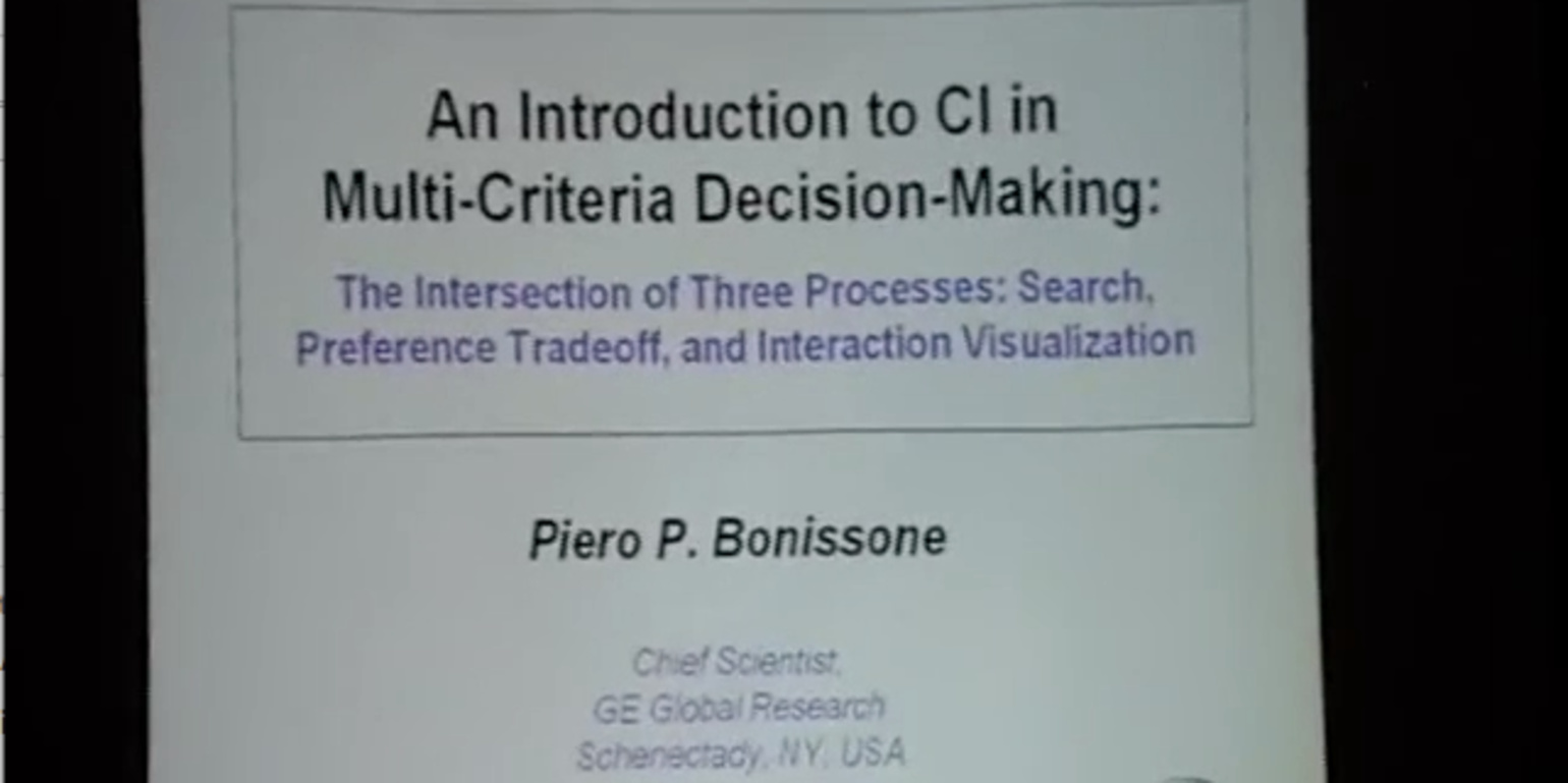 An Introduction to Computational Intelligence in Multi-Criteria Decision-Making: The Intersection of Search, Preference Tradeoff