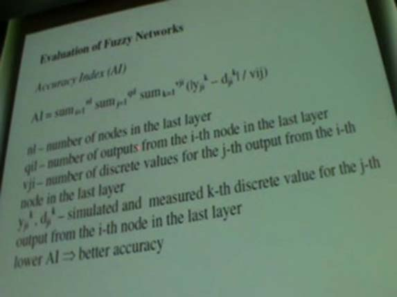 The Evolution of Fuzzy Networks