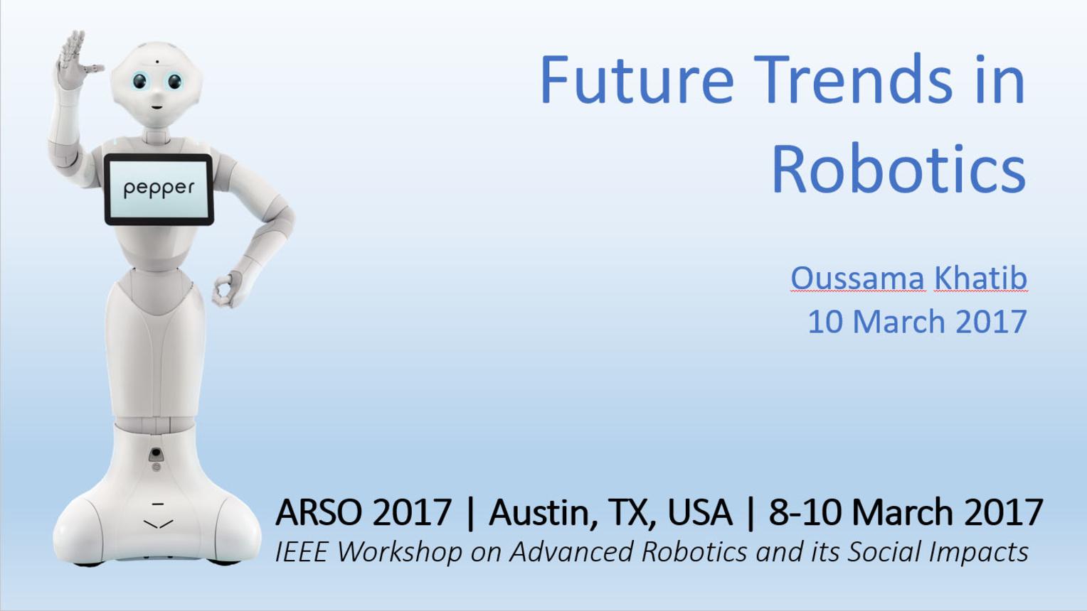 Future Trends in Robotics