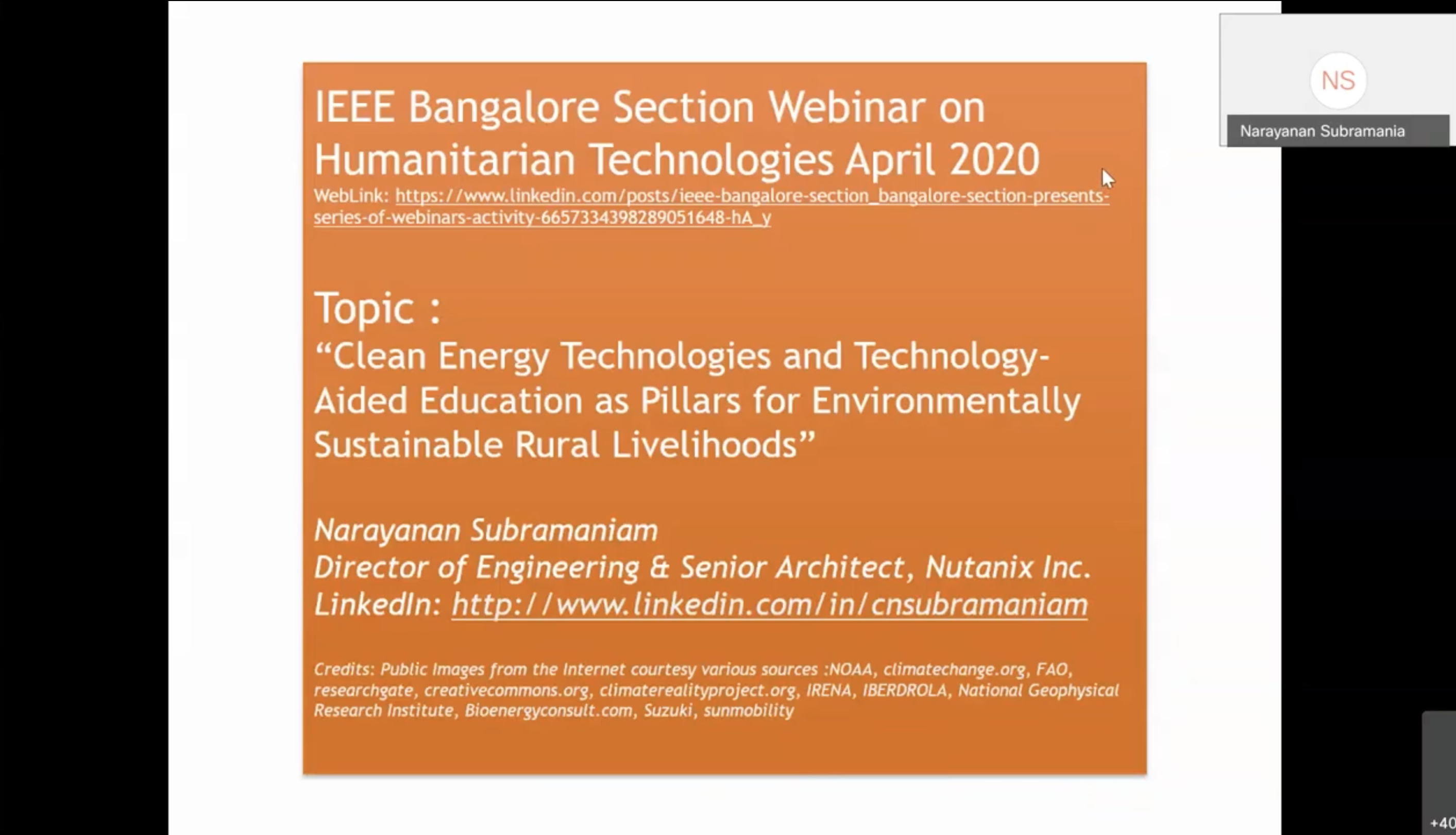 Clean Energy Technologies & Technology-Aided Education